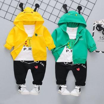 Next Baby's Cute Plush Vest, Sweatshirt and Pants 3 Pcs Set 6