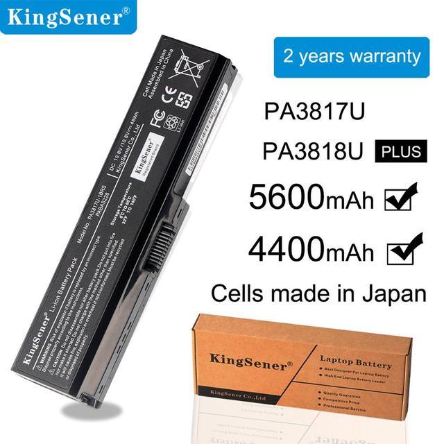 KingSener PA3817U 1BRS PA3817U Battery สำหรับ Toshiba Satellite A660 C640 C600 C650 C655 C660 L510 L630 L640 L650 L670 L770 PA3818U