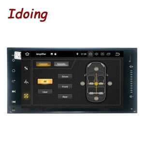 """Image 2 - Idoing 7 """"1 Din Android 9.0 Radio samochodowe odtwarzacz multimedialny gps dla Toyota uniwersalny ekran IPS 4G Ram 64G Rom octa core Navigation"""
