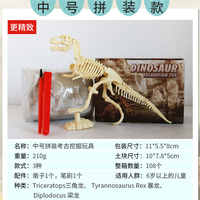 Montado dinossauro esqueleto arqueologia mineração brinquedos modelo fóssil modelo artesanal parque temático atividade presente