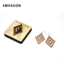 SMVAUON 2020 Leather Knife Cut Out Leather Earring Cutting Die Steel Rule Die  Decoration Tool For Die Cutting Machine DIY