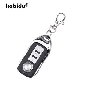 Image 1 - Kebidu Drahtlose Fernbedienung 433Mhz Kopie auto Auto Klonen Tor für Garage Tür Tragbare Duplizierer Schlüssel Fernbedienung