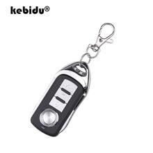 Kebidu cópia do carro de controle remoto sem fio 433 mhz porta clonagem automática para porta garagem duplicador portátil chave remoto
