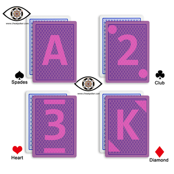 Copag Marked playing cards for Contact Lenses TEXAS HOLD'EM magic deck for tricks anti cheat poker недорого