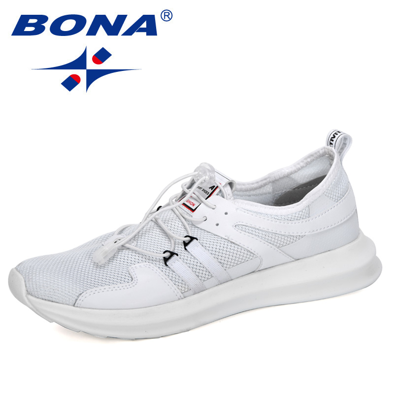 BONA 2020 New Arrival Popular Casual Sneakers Men Comfortable Brand Shoes Man Outdoor Leisure Shoes Breathable Zapatos Hombre