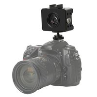 Aluminum Camera Cage for Sony RX0 Mini Camera with Metal Protective Shell Black Case Mount Tripod Holder