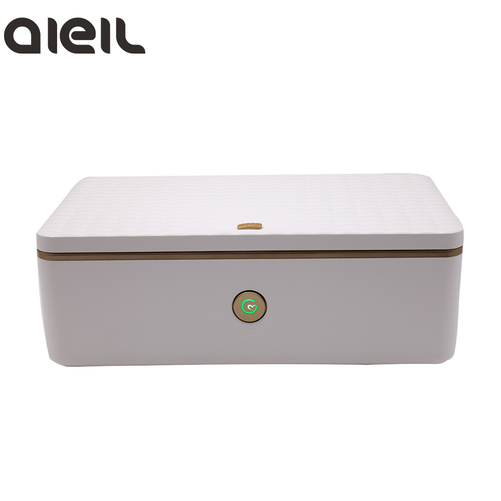 LED USB Mini Portable UV Sterilizer For Nail Tools Makeup Brush Toothbrush Disinfection Cabinet Nail Sterilizer Box Nail Art