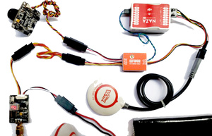 Image 5 - Контроллер полета FPV MINI N1 модуль OSD с чехол для DJI A2 NAZA V1 V2 Lite GPS N2 N3