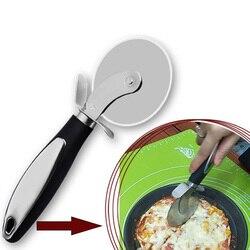 Narzędzia do pizzy średnica 7.5 CM nóż do pizzy nóż do pizzy ze stali nierdzewnej nóż do pizzy nóż obrotowy nóż do ciasta pieczenie ciasta nóż do kół