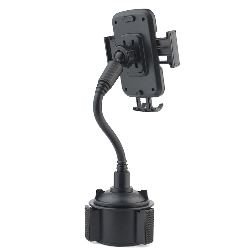 Image 4 - Universal Car Cup Holder Stand for Phone Adjustable Drink Bottle Holder Mount Support for Smartphone Mobile Phone Accessories-in Phone Holders & Stands from Cellphones & Telecommunications