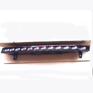 Image 2 - Para audi q7 s line 2010 2015 esquerda conjunto de luz marcador rotativo 4l0953041e 4l0953042e led turn signal luz q7 amortecedor dianteiro signa