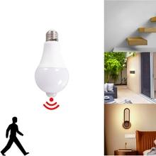 E27 9W 12W 15W 18W PIR Motion Sensor light E27 Motion Detector LED Bulb lamp Stair Hallway Pathway Corridor Night lighting