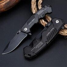 57HRC katlanır bıçak taktiksel hayatta kalma bıçaklar avcılık kamp bıçak çok yüksek sertlik askeri Survival bıçaklar cep