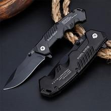 Couteau de survie tactique pliant 57HRC lame pour la chasse, le Camping, couteaux de survie militaires, dureté élevée, poche