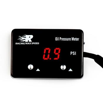 universal 200psi  1/8 npt sensor 12v digital oil gauge pressure display  oil pressure gauges/meter with sensor OPM-01