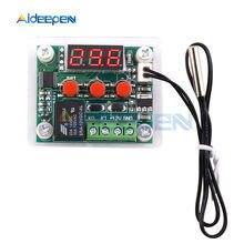 W1209 -50-100C Dc 12V Digitale Temperatuur Controllear Thermostaat Temperatuurregeling Thermostaat Plaat W1209 Case Rood