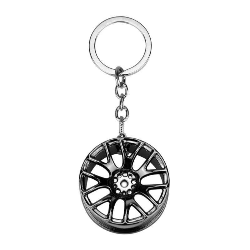 سيارة المفاتيح عجلة الإطارات التصميم الإبداعية البسيطة سيارة مفتاح حلقة السيارات سيارة مفتاح سلسلة كيرينغ ل BMW أودي هوندا فورد سيارة التصميم جديد