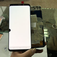 Original Für Samsung S9 LCD s9 plus Display Touchscreen Digitizer Montage Für Samsung GALAXY S9 G960f S9 Plus G965 lcd + spot(China)