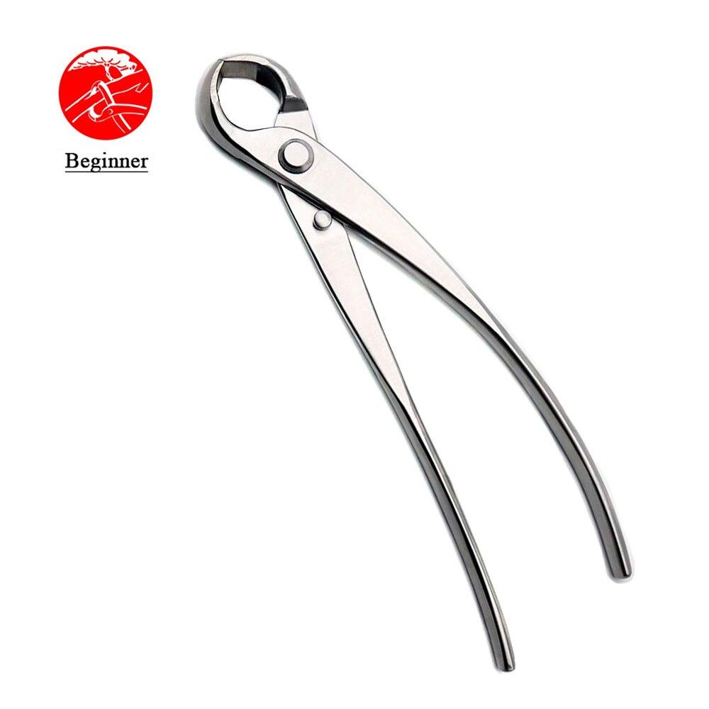 210 mm gałka noża wklęsła obcinarka krawędzi standardowy poziom jakości 3Cr13 Narzędzia bonsai ze stali nierdzewnej wykonane przez firmę TianBonsai
