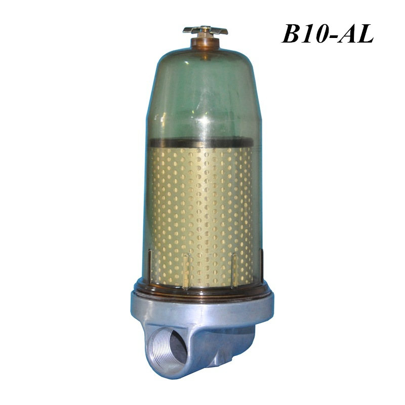 B10-AL Fuel Tank Filter Fuel Water Separator Assembly With PF10 Filter Element For Diesel Oil Storage Tank