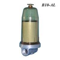 B10 AL conjunto separador de água combustível do filtro do tanque de combustível com elemento de filtro pf10 para o tanque de armazenamento de óleo diesel|Filtros de combustível| |  -