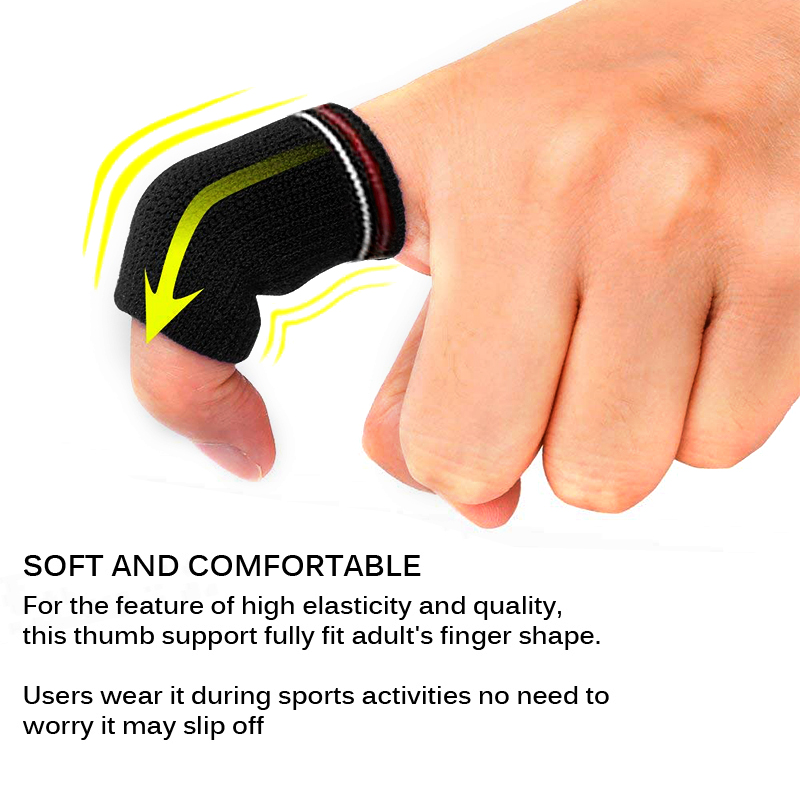 Finger Guard Band Ball Sport Fitness Finger Splint Guard Bands Universal Sports Fitness Joint Protect Stretchy Aid Band 10 Pcs