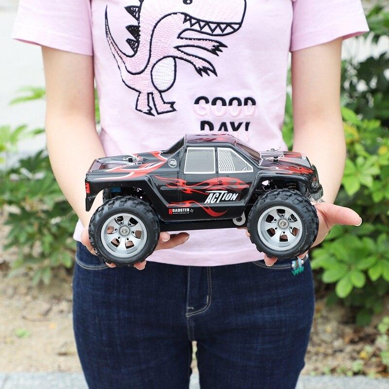 Радиоуправляемый автомобиль WLtoys A979 1/18 4WD гоночный автомобиль с дистанционным управлением Внедорожный гоночный автомобиль 2,4 ГГц пульт дистанционного управления на радиоуправлении светодиодный высокоскоростной грузовик багги - 3