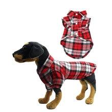 цена на Dog Plaid Shirt, Pet Fashion Plaid Shirt Pet Dog Clothes,  Soft Summer Plaid Dog Vest Clothes Cotton Puppy Shirts T shirt Vests