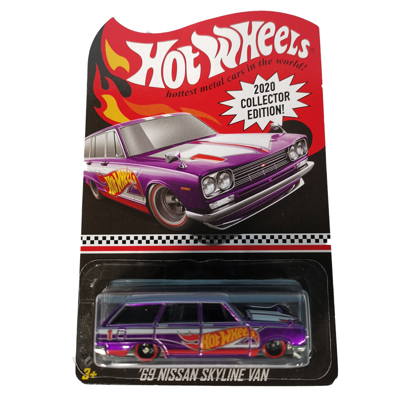 Hot Wheels Car 2020 Collector Edition 69 NISSAN SKYLINE VAN Metal Diecast Cars Kids Toys Vehicle For Gift