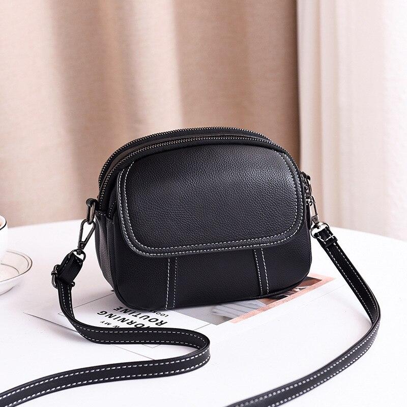 Women Soft PU Leather Small Crossbody Bags Fashion Casual Flap Shoulder Messenger Bag Lady Design Mini Handbags Female Tote Bag