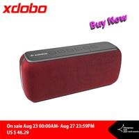 XDOBO-Altavoz Bluetooth inalámbrico portátil X8, 60W, TWS, bajo con Subwoofer, IPX5, distancia de conexión impermeable, 80m, 15H de tiempo de reproducción