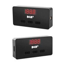 Nuovo ricevitore di trasmissione Audio digitale per auto DAB + Box adattatore per ricevitore Radio adattatore per segnale di trasmissione Audio portatile per leuropa