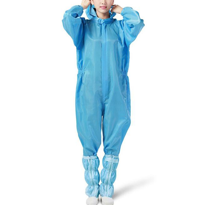 Protective Suit Duty-Proof Hooded Clothing Coverall Chemical Safety Workwear Painting Full Waterproof Unisex Antistatic