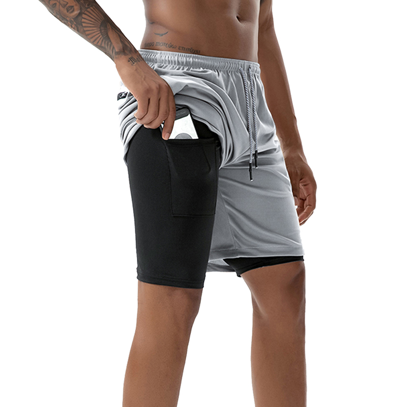 Monerffi Running Shorts Summer Gyms Jogging Sport Quick-Dry Mens