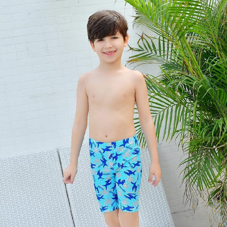2017 New Style KID'S Swimwear BOY'S Big Boy 6-15-Year-Old Cartoon Short AussieBum