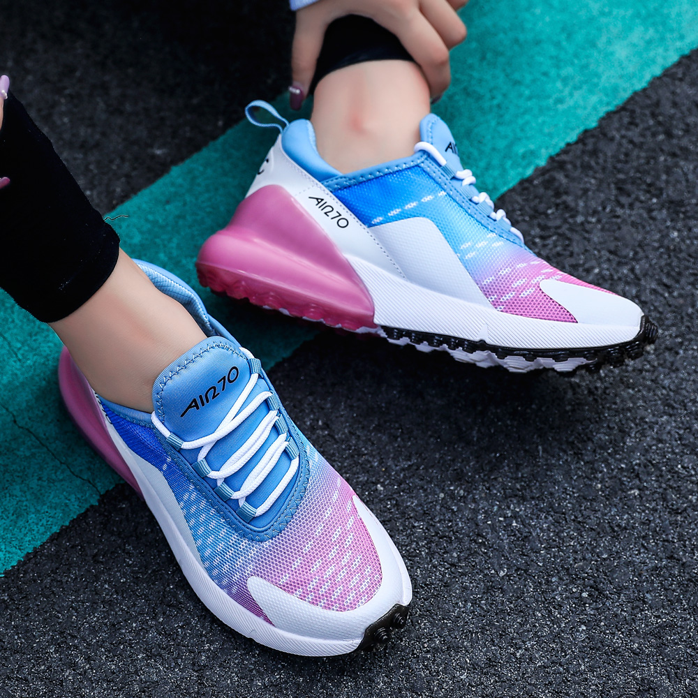 2019 Men Sneakers Women Running Shoes High Quality Brand Sport Shoes Breathable Zapatillas Hombre Deportiva Plus Size