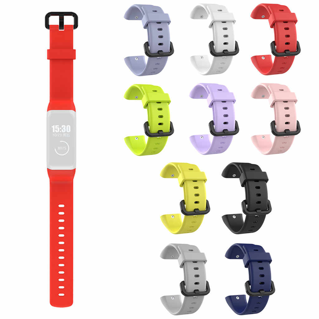 Sports Soft Silicone Point Wristband Wrist Strap For XIAOMI AMAZFIT c or 2 Watch Colorful Wristband SmartWatchs Accessories