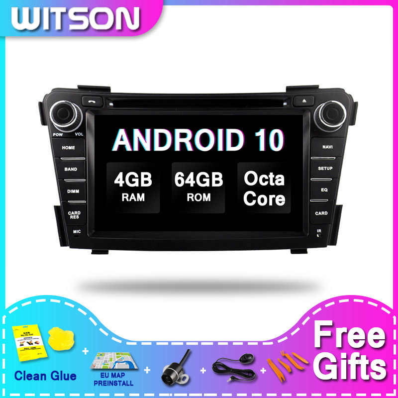 WITSON ANDROID 10.0 Android Car DVD Player Per HYUNDAI I40 2012-2014 4GB 64GB