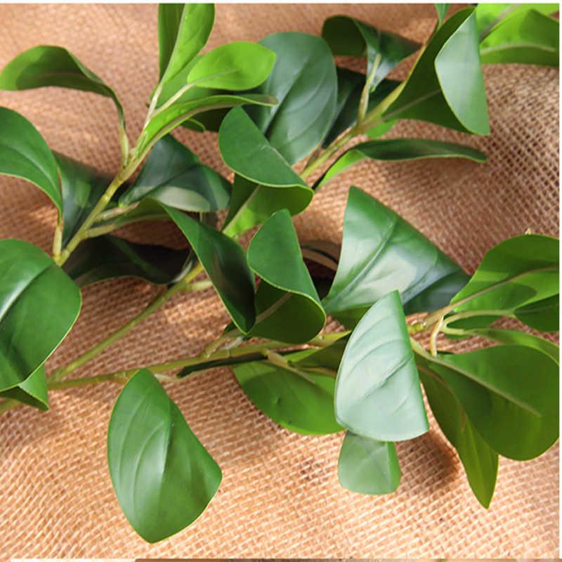 Arrangement Decoratie Kunstmatige Bladeren Grote Eucalyptus Blad Milan Blad Muur Materiaal Simulatie Plant Diy Bloem Partij Groen