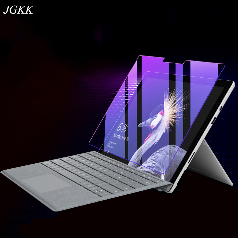 Anti Blue Tempered Glass For Microsoft Surface Pro 4 5 6 7 Screen Protector For Microsoft Surface Pro 4 5 6 7 Go Glass 12.3