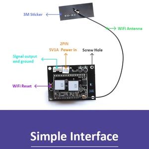 Image 5 - Up2Stream WiFi 오디오 수신기 모듈 (Spotify Airplay 포함) DLNA 24Bit 192KHZ FLAC Multiroom 무료 Android IOS App