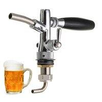 Adjustable Draft Beer Faucet Homebrew Dispenser with Flow Controller For Keg Tap for Bars Hotels Restaurants Home G5/8