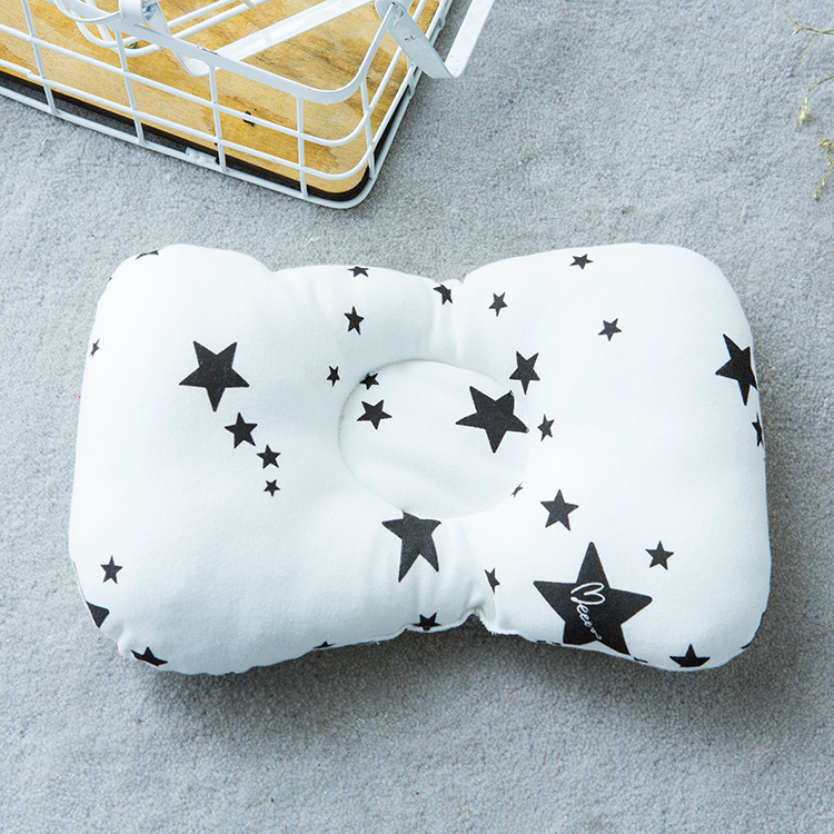 Baby Pillow And Newborn Head Protection Cushion Toddler Anti Roll Sleep Positioner 9