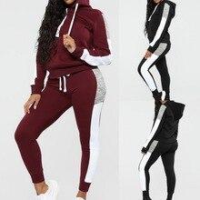 Бархатный набор для бега, женский зимний спортивный костюм, толстовки, спортивный костюм, спортивные штаны, костюмы для бега, 2 шт., спортивная одежда, женский спортивный костюм s