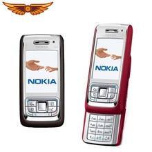100% Original Nokia E65 GSM 2,2 Zoll Symbian OS 2MP Kamera Unterstützung Russisch/Arabisch tastatur 950mAh Entsperrt Renoviert handy