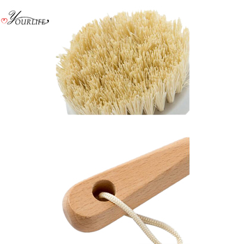 OYOURLIFE Kitchen Wooden Long Handle Cleaning Brush Pan Pot Bowl Tableware Brush Dish Washing Brush Home Kitchen Cleaning Tool 5