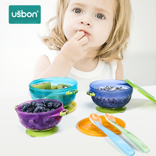 USB ON Baby Feeding ชาม 3PCS (China)