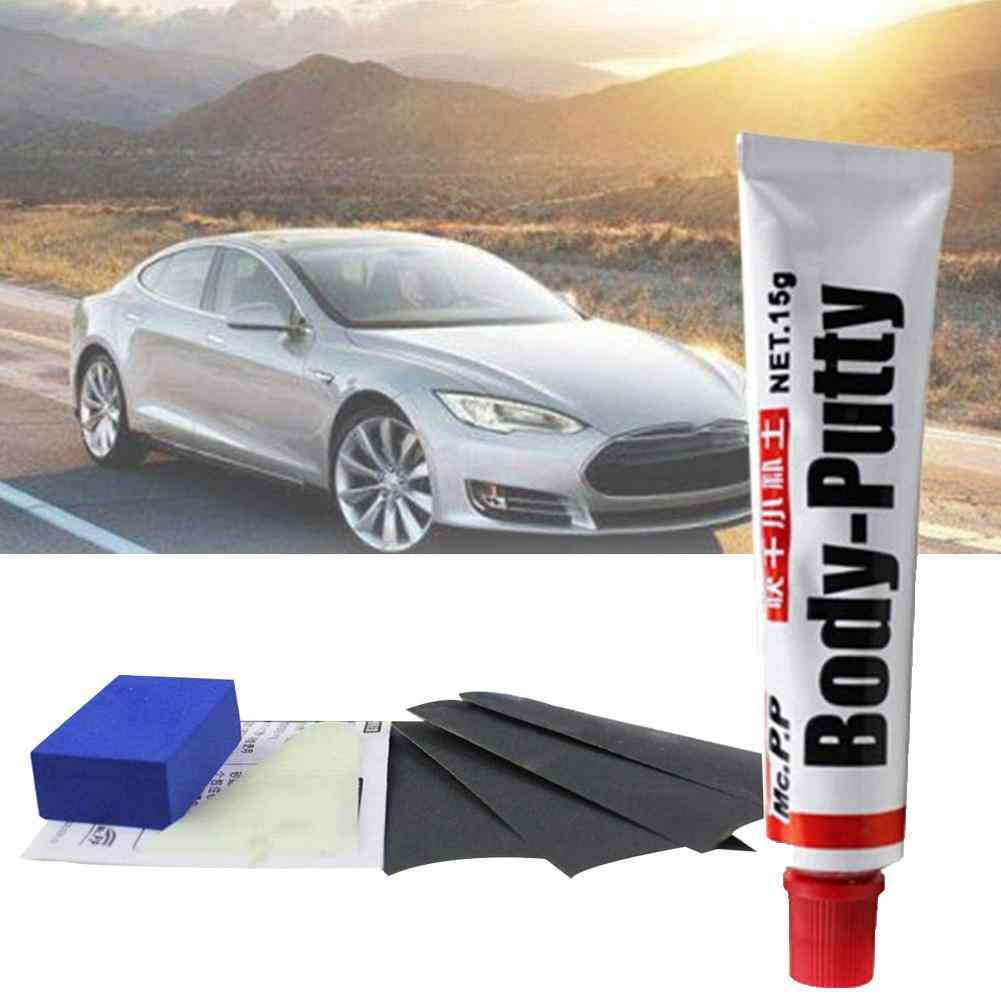 Car paint tool Auto Care Car Body Repair Tool Scratch Paint Filling Soft Putty Sandpaper Repair Tools Kit Exterior Accessories