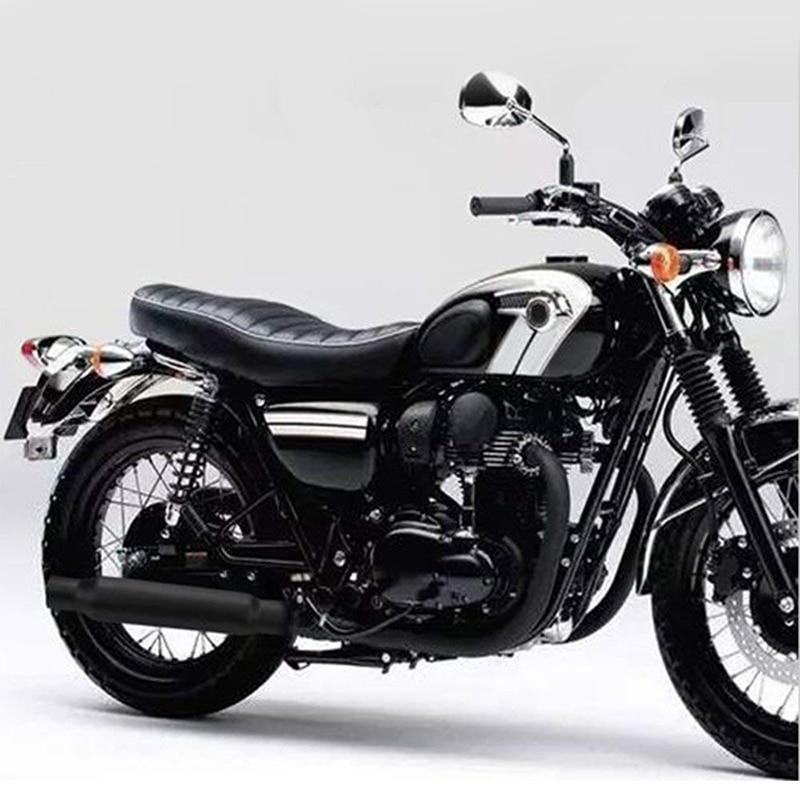 Motorcycle Exhaust Pipe Muffler Silencer Black For Cafe Racer Bobber Chopper Hot