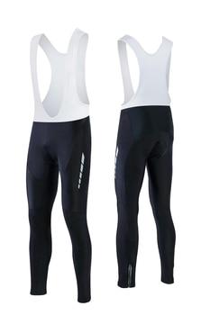 Pantalones largos FASTCUTE para Ciclismo para hombre, mallas de Gel 3D para...